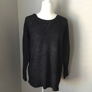 Caslon Lightweight Burnout Sweatshirt - Medium